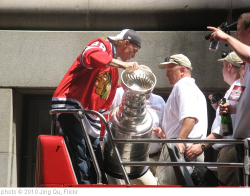 '(Day 6) Patrick Kane and the Stanley Cup' photo (c) 2010, Jing Qu - license: http://creativecommons.org/licenses/by/2.0/