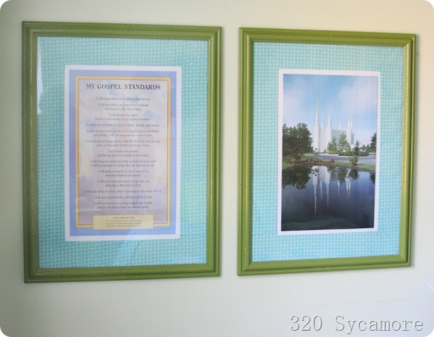 inexpensive frames artwork
