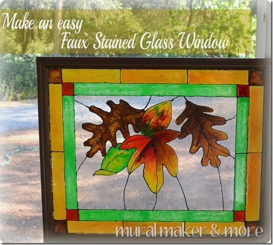 Faux Stain Glass 51