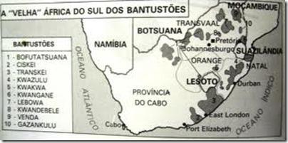 Africa do Bantustões