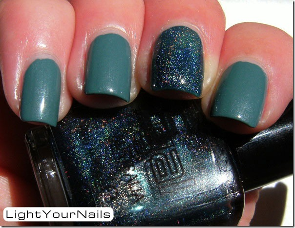 Joe Fresh Teal + Glitter Gal Teal Blue