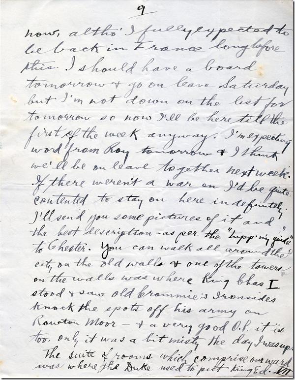 25 Oct 1917 9