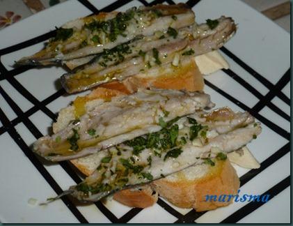 sardinas en vinagre,racion copia