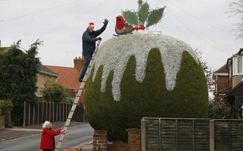 Рождественский пудинг в графстве Сомерсет