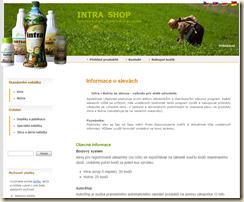Intra Shop - informace o slevách