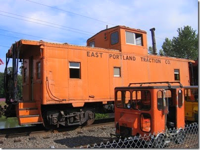 IMG_7484 East Portland Traction Company Caboose #11 at Oaks Park on July 13, 2007
