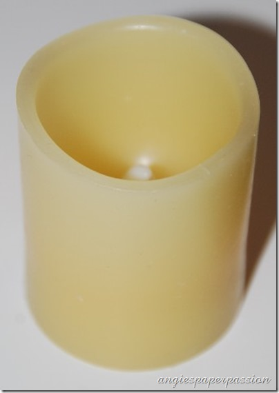 Christmas Etched Candle (10)