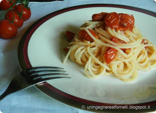 pasta primo spaghetti pomodorini forno davide oldani