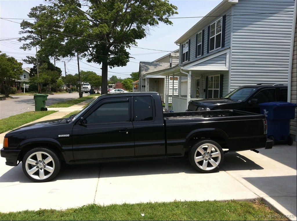 1992 Mazda B Series Pickup Extended Cab Specifications