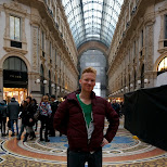 matt at Galleria Vittorio Emanuele II in Milan, Milano, Italy