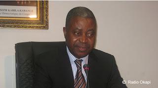 Le premier ministre Adolphe Muzito
