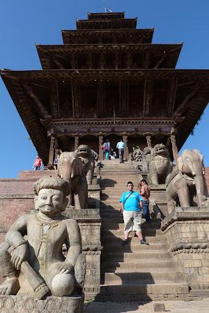 Obiective turistice Bhaktapur: templul Nyatapole