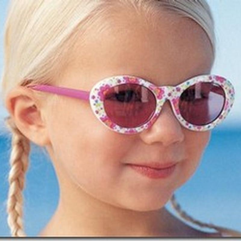 كيف تختارين نظارة شمسية صحية لطفلك ؟