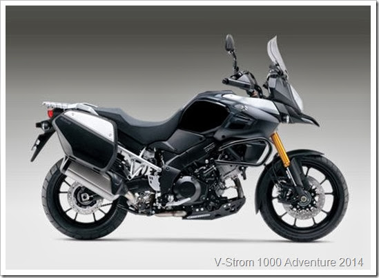 Suzuki V-Strom Adventure 2014