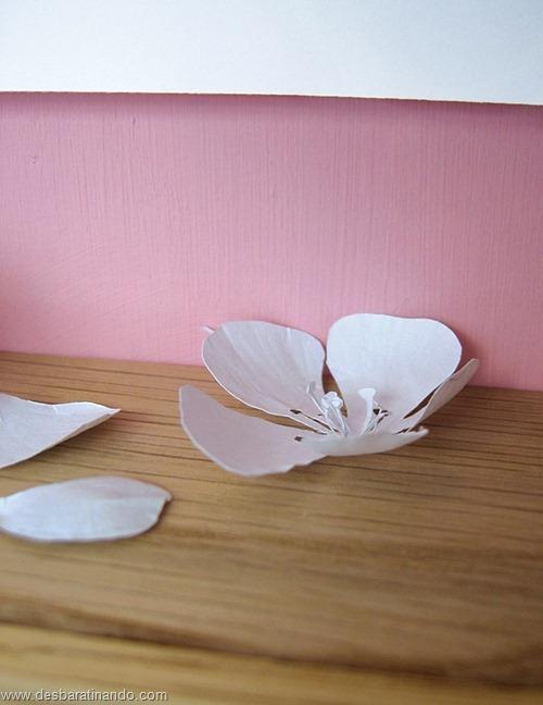 obras de arte em papel 3D origami Peter Callesen desbaratinando (4)
