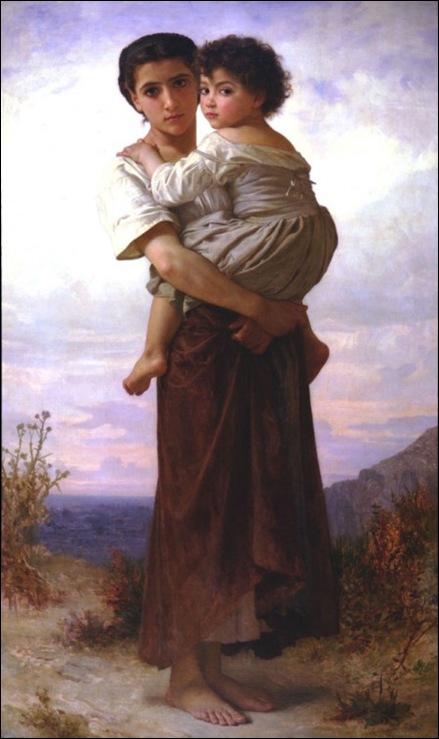 Bouguereau, Jeunes bohémiennes