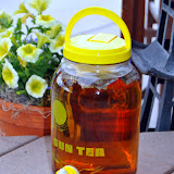 Homemade sun tea is cheap, easy, and refreshing on a hot summer day.