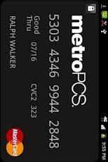 Descargar Metro PCS Virtual Master Card para celulares gratis