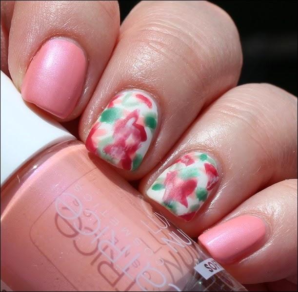 Mottomonat Blütenzauber Nageldesign Nail Art Flowers Spring 03