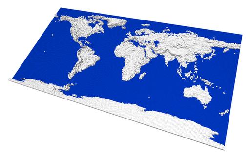 Every body wants to rule the world ldd world map lego digital whitelegoearththumb25255b125255dg gumiabroncs Images