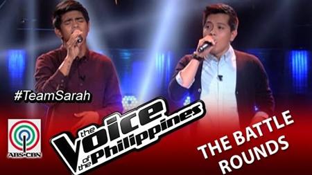 The Voice PH 2 Battles - Jason vs Daniel