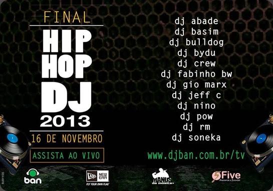 Hip Hop DJ 2013