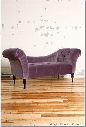 urban outfitters fainting sofa aubergine