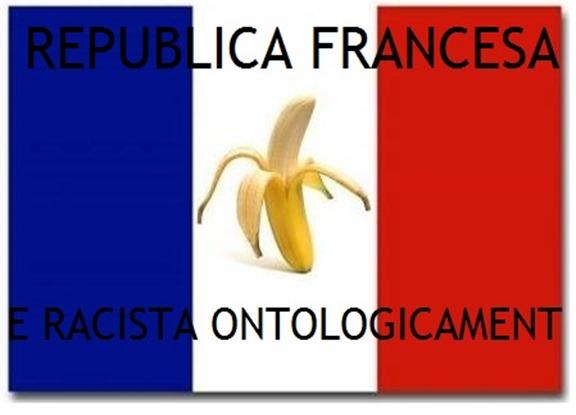 Bandièra francesa e racisme