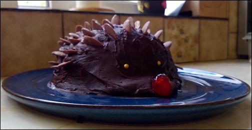 Hedgehog Cake Piper2013