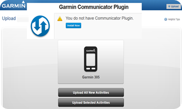 current-version-plugin-Garmin-Communicator-plug-in