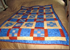 Front of Corrie &  Dean's Cuddle Quilts