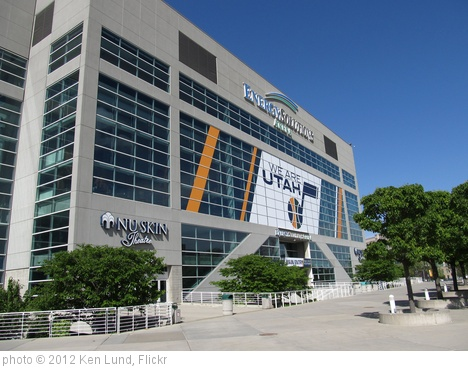 'Energy Solutions Arena, Salt Lake City, Utah' photo (c) 2012, Ken Lund - license: http://creativecommons.org/licenses/by-sa/2.0/