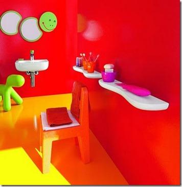 Baños Modernos para Niños