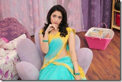 Tamanna in blue dress