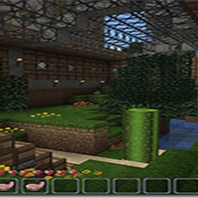MineCraft - JohnSmith's Texture Pack v8.4 Mod (1.2.3)