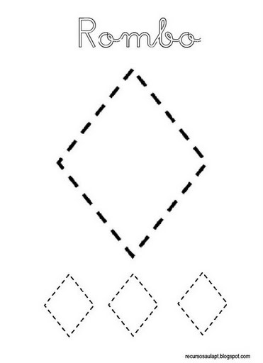 Formas geometricas para colorear - Maneras de pintar ...