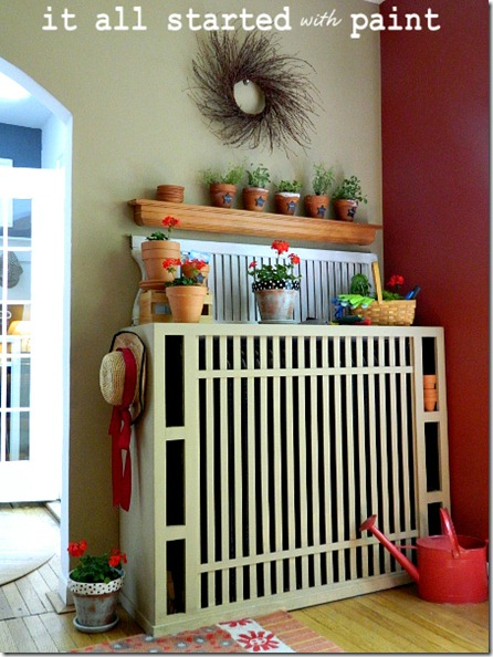 potting_bench_summer_mantel