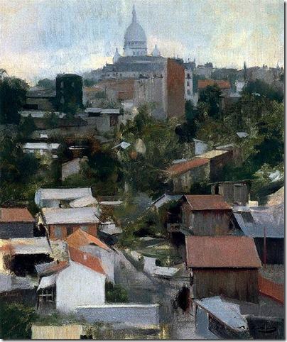 ramon casas i carbo_Le Sacré-Coeur, Montmartre_1891