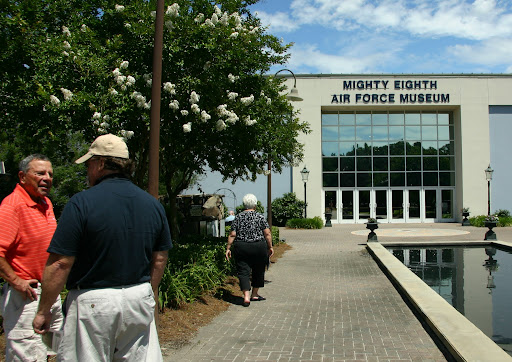 Mighty Eighth Air Force Museum: never had a mission turned back