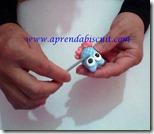 Modelando corujinha em biscuit parte 18
