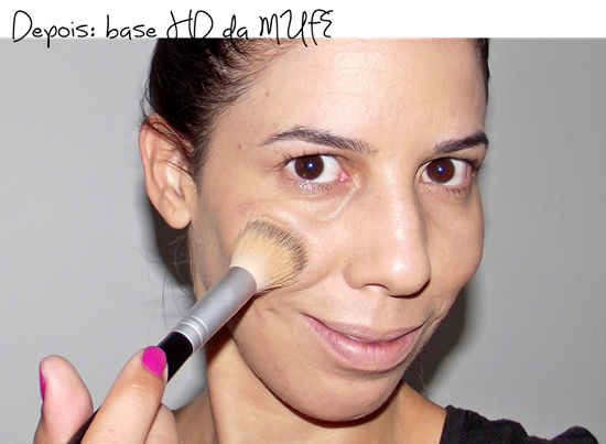 Base HD Make Up For Ever - DEPOIS