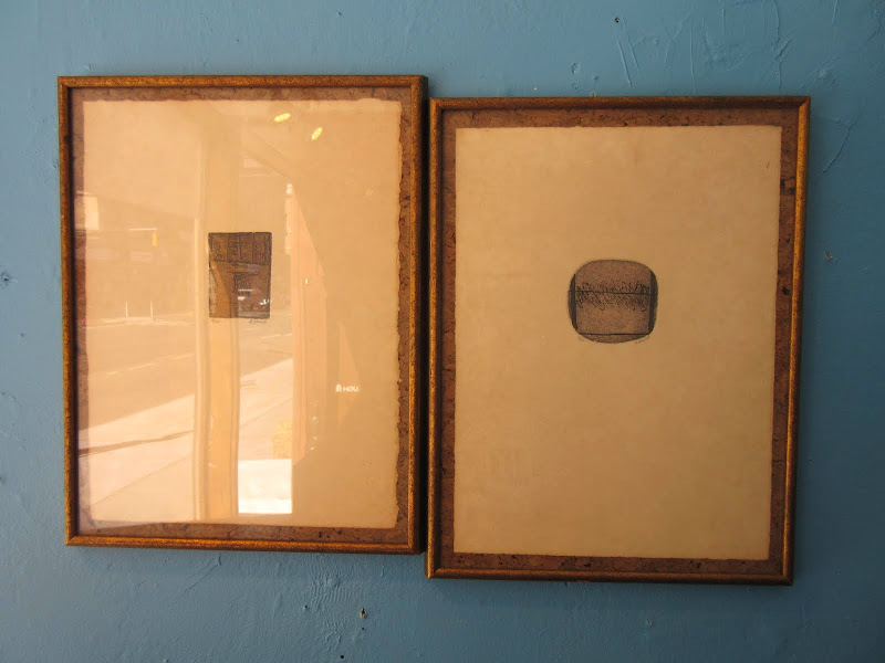 Signed Etching Pair