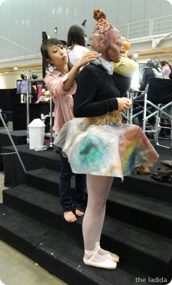 IMATS Sydney 2012 - Student Battle of the Brushes - Character Prosthetic - Lily Yang (3)