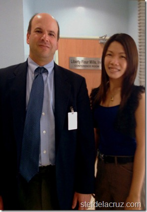 Dr. Dan Kaufman and Dr. Stef dela Cruz