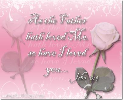 John 15:9 Valentine 2013