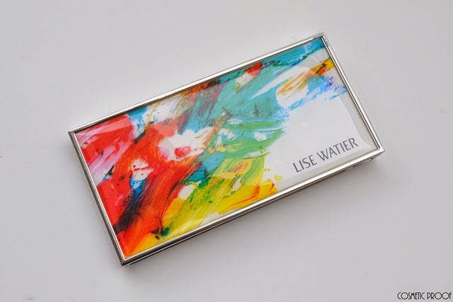 Lise Watier Expression Eyeshadow Palette Review Swatches Spring 2015 (2)