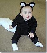 halloween para bebes disfraz mofeta