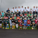 2/7/2012 ECHO SPORT Participants, coaches and Cork Senior Hurling goalkeeper Donal Og Cusack pictured at the inaugural 'Camp Ciaran' GAA Camp at the Shamrocks GAA Club (Pic Howard Crowdy)