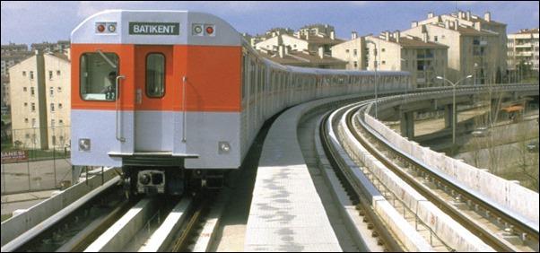 قطار تركيا