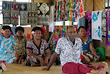 The Eldest Male and Villagers Watch the Kava Cermony - Suva, Fiji